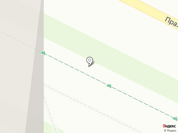 Мастер шаверма на карте Кудрово