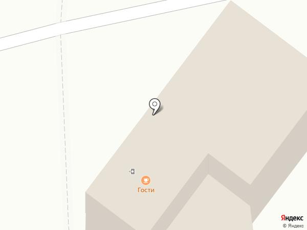 Гости на карте Токсово