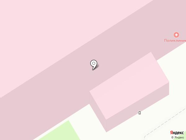 Токсовская районная поликлиника на карте Токсово