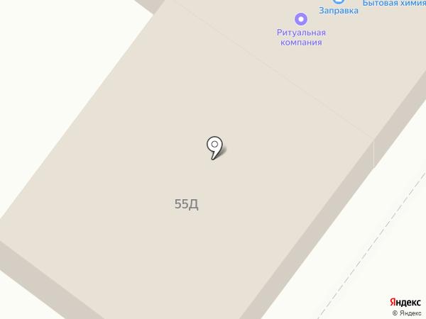 Север на карте Токсово