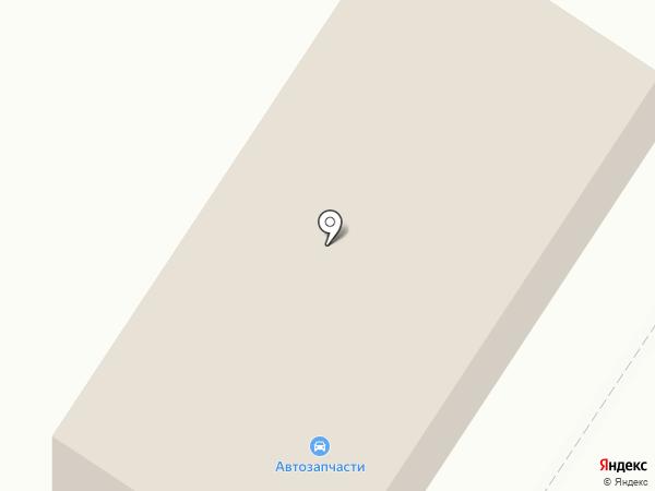 Магазин автозапчастей на карте Токсово