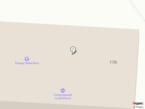 Северный склон на карте Токсово