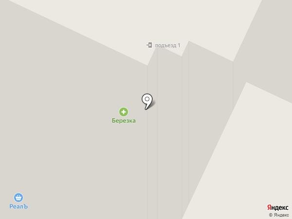 Лавина на карте Янино 1