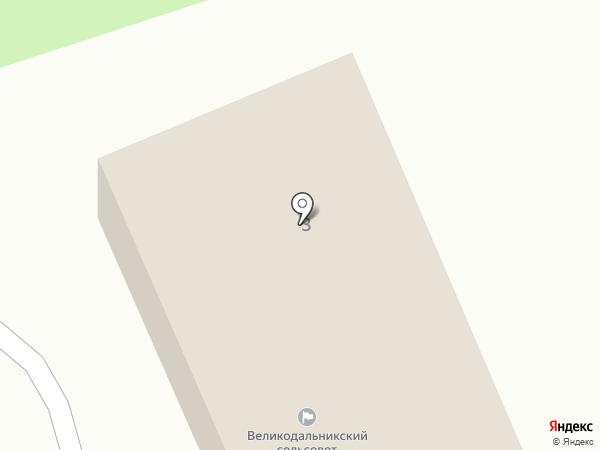 Банкомат, Ощадбанк, ПАТ на карте Великого Дальника