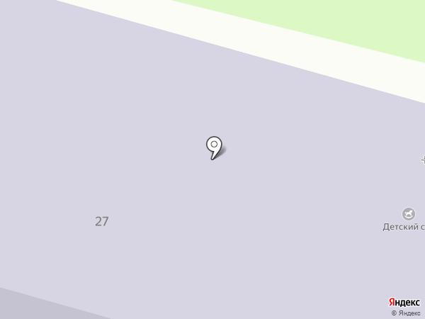 Янинская средняя общеобразовательная школа с дошкольным отделением на карте Янино 1