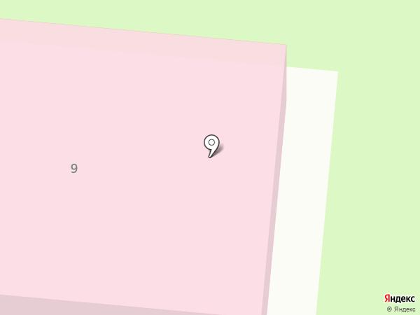 Заневский пост на карте Янино 1