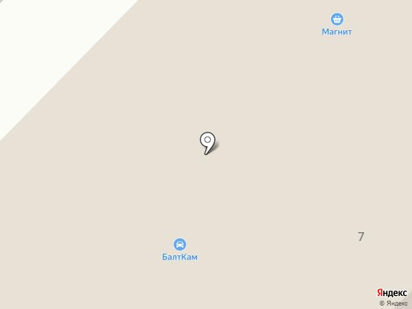 БалтКам на карте Яма-Ижоры