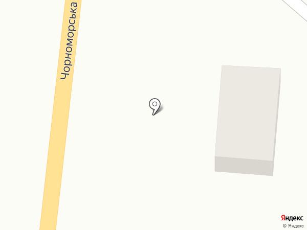 Автостоп на карте Великодолинского