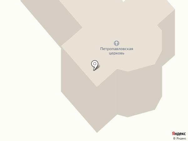 Свято-Петро-Павловский Храм на карте Новой Долины