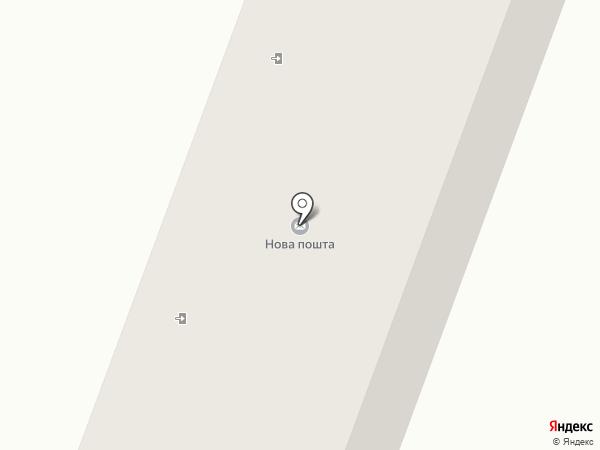 Почтовое отделение связи на карте Хлебодарского