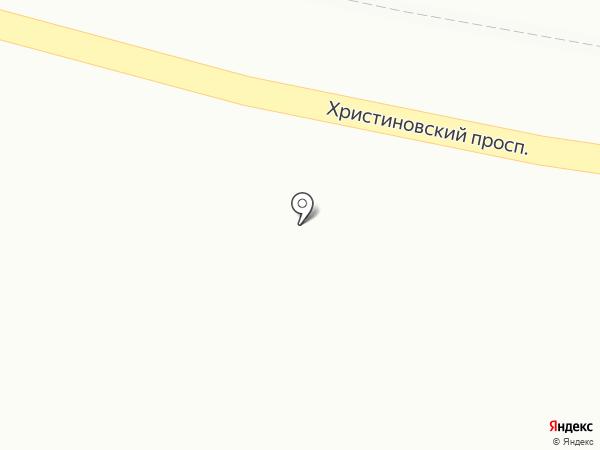 Шиномонтажная мастерская на Христиновском проспекте на карте Всеволожска