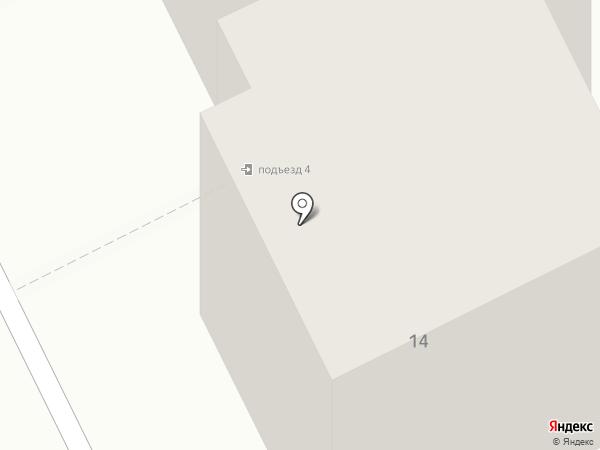 Почтовое отделение №188641 на карте Всеволожска