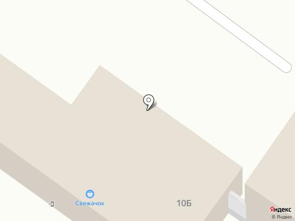 Супермаркет на карте Тельманы