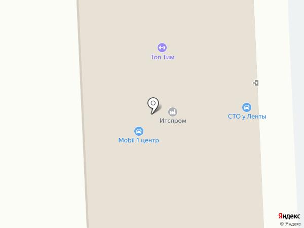 Ижора на карте Тельманы