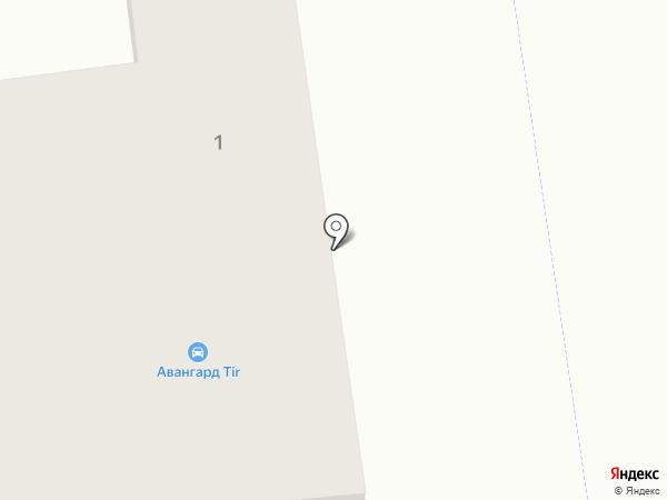 Магазин автозапчастей для иномарок на карте Авангарда