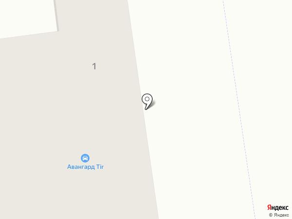 AvangardTir на карте Авангарда