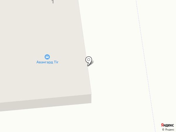 Нова пошта, ТОВ на карте Авангарда