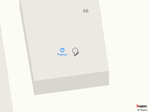 Радиус на карте Авангарда