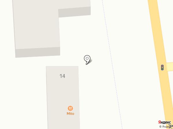 Киоск по продаже колбасных изделий на карте Авангарда