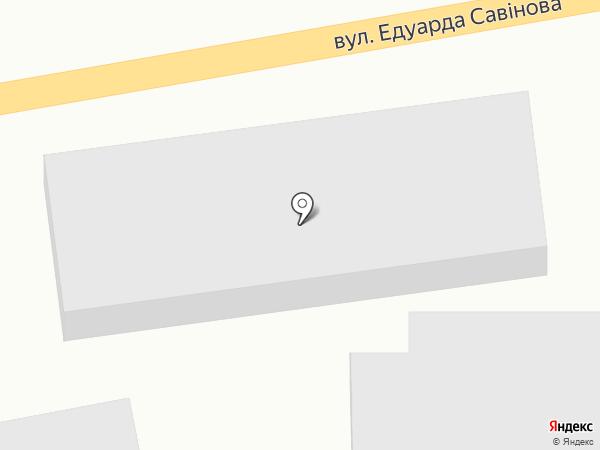 Агура-Чародей на карте Малодолинского