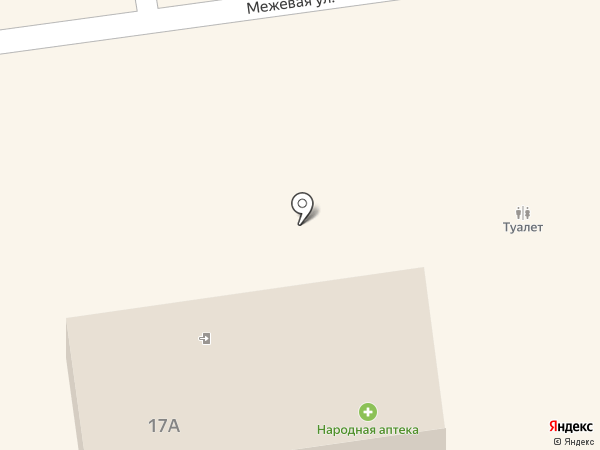 Народная аптека на карте Всеволожска