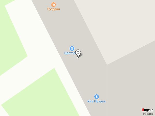 Магазин цветов и подарков на карте Всеволожска