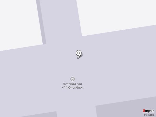 Детский сад №4 на карте Всеволожска