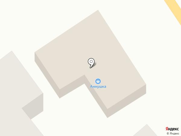 Аннушка на карте Сухого Лимана
