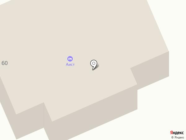 Аист на карте Старой