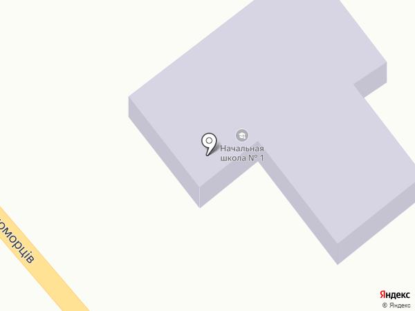 Общеобразовательная школа I ступени на карте Сухого Лимана