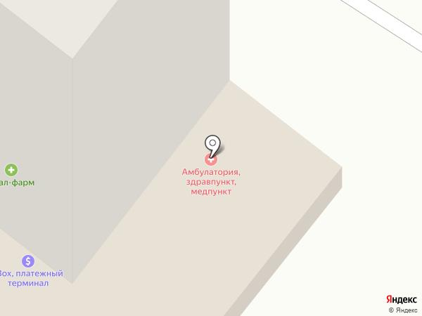 Центр на карте Авангарда