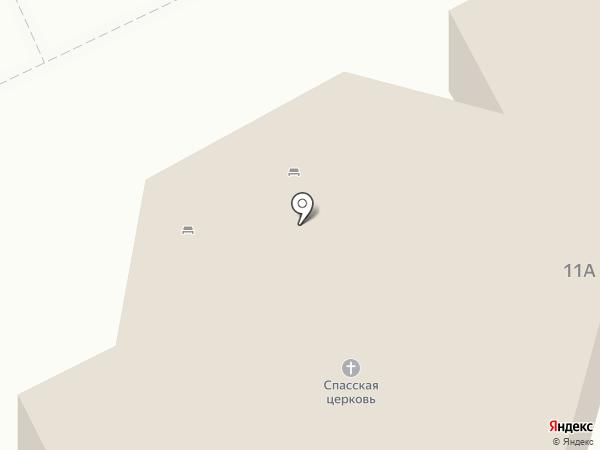Храм Спаса Нерукотворного Образа на Дороге жизни на карте Всеволожска