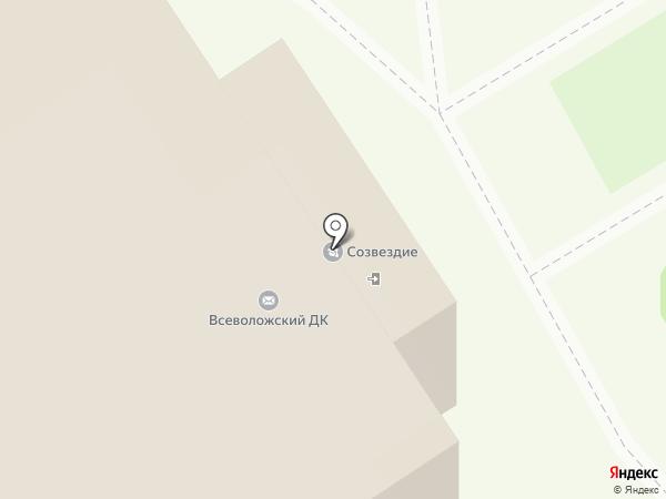 Всеволожский центр культуры и досуга, МАУ на карте Всеволожска
