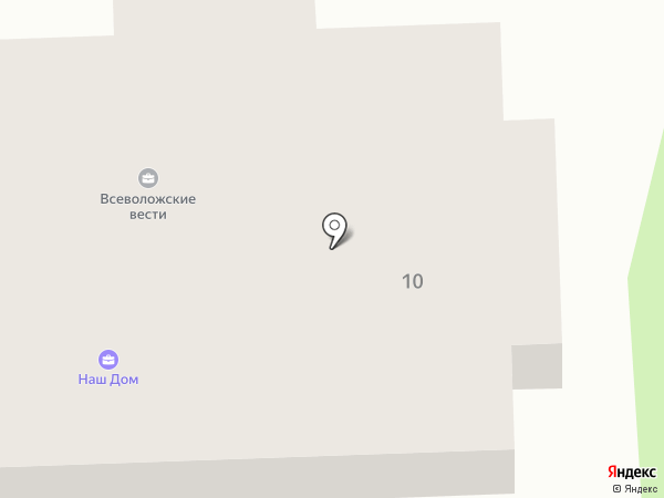 Родник на карте Всеволожска