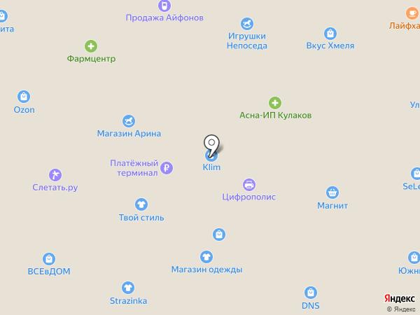 Линзы тут на карте Всеволожска