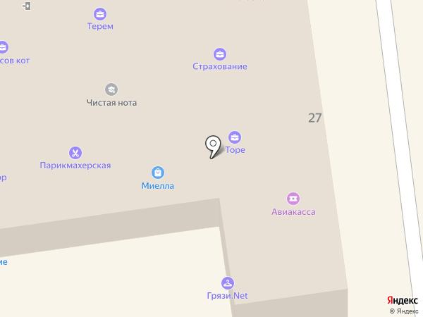 Технопроект на карте Всеволожска