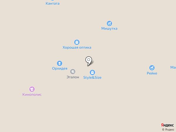 Мужской стиль на карте Всеволожска