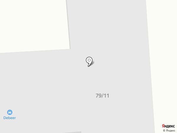 Debeer на карте Ильичёвска