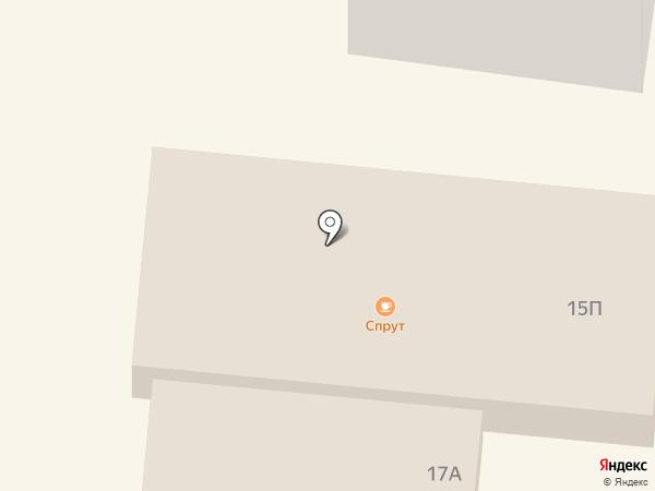 Спрут на карте Ильичёвска