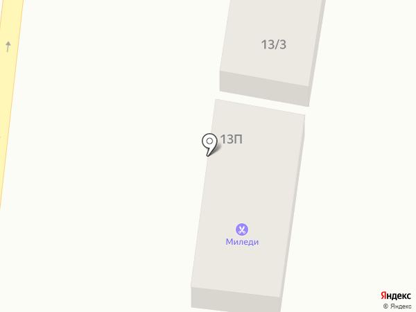 Лад на карте Ильичёвска