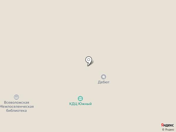 Апельсин на карте Всеволожска