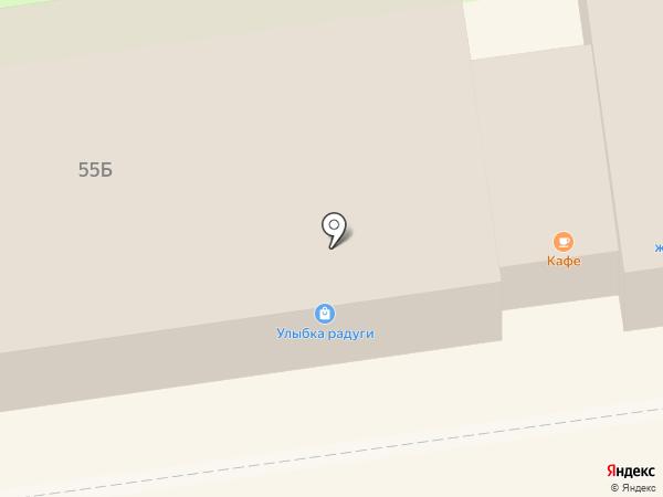 Платежный терминал, Петербургский социальный коммерческий банк на карте Всеволожска
