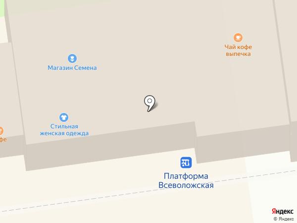 Магазин женской одежды на карте Всеволожска