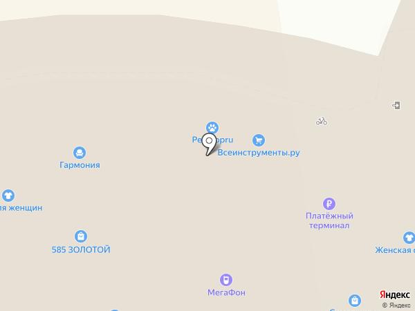 Алоэ на карте Всеволожска