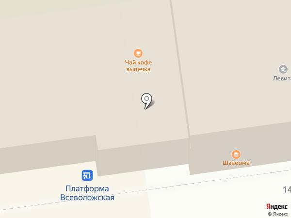 Белорусский дворик на карте Всеволожска