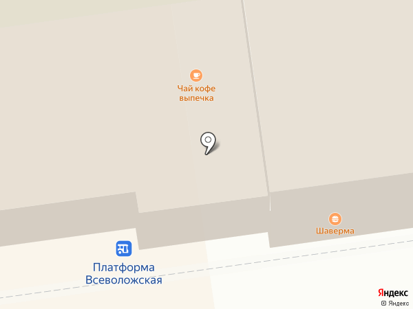 Магазин косметики и акссекссуаров на карте Всеволожска