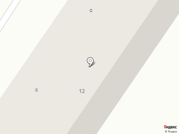 Страж на карте Ильичёвска