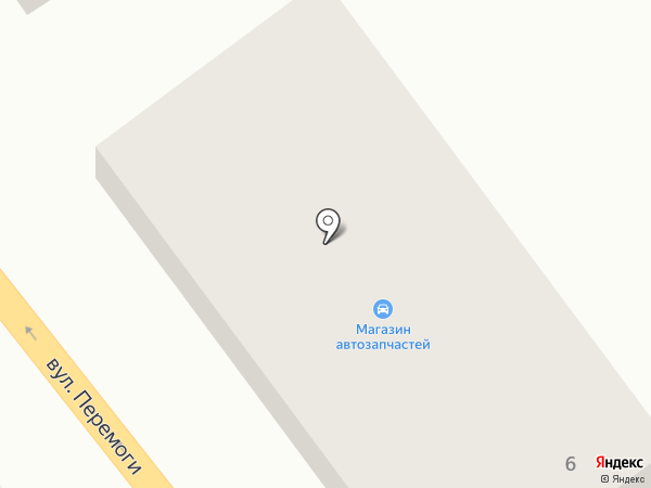Магазин автозапчастей на карте Ильичёвска