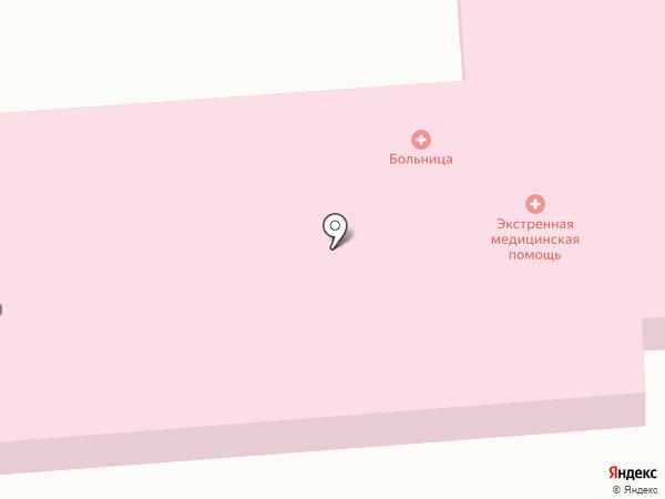 Больница общей практики и семейной медицины на карте Усатово