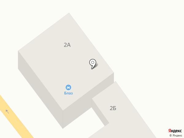 Контраст на карте Ильичёвска